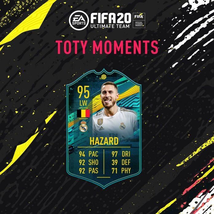 SBC Hazard Momenti Giocatore TOTY Moments