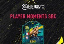 SBC Remy Momenti Giocatore