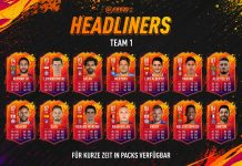 Headliners FIFA 20 Team 1