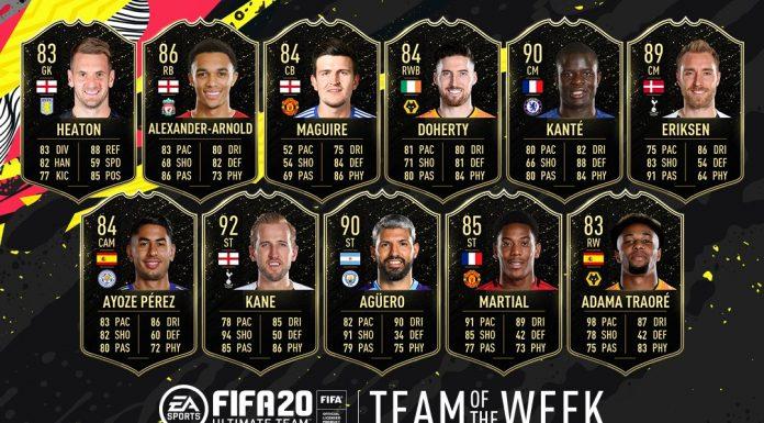 TOTW 16 FIFA 20