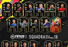 TOTW 18 FIFA 20