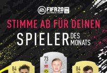 Candidati POTM gennaio Bundesliga