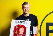 Haland POTM Bundesliga