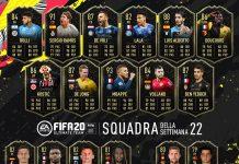 TOTW 22 FIFA 20