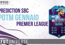 Aguero POTM Gennaio Premier League Prediction Copertina