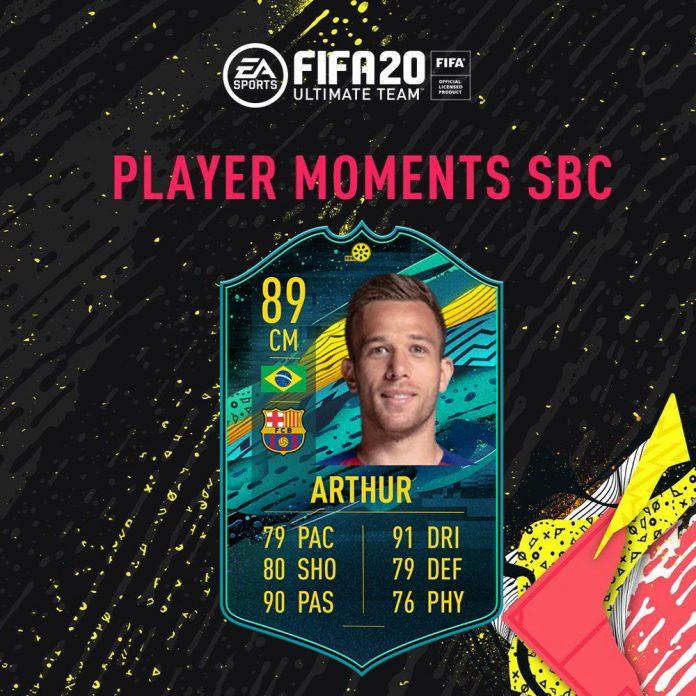 Arthur Momenti Giocatore SBC