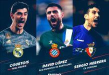Candidati POTM La Liga Gennaio