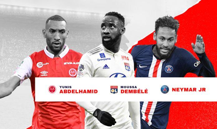 Candidati POTM Ligue 1 Gennaio