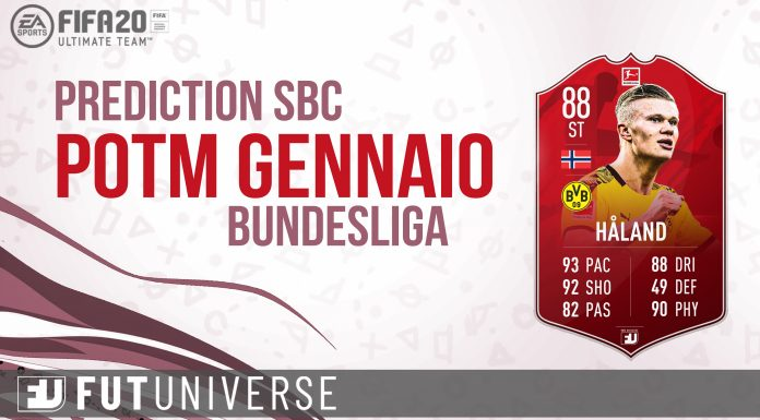 Haaland POTM Gennaio Bundesliga Prediction Copertina