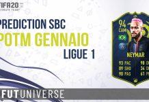 Neymar POTM Gennaio Ligue 1 Prediction Cover