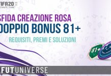 SBC Doppio Bonus 81+