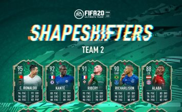 Shapeshifters Team 2