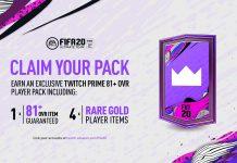 Pacchetto Regalo Twitch Prime FIFA 20