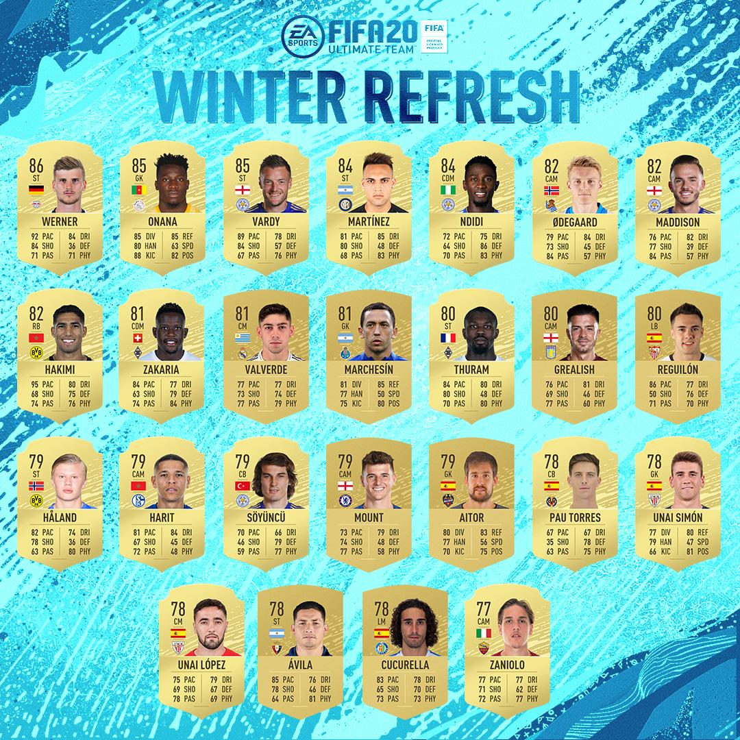 Winter Upgrades FIFA 20 A