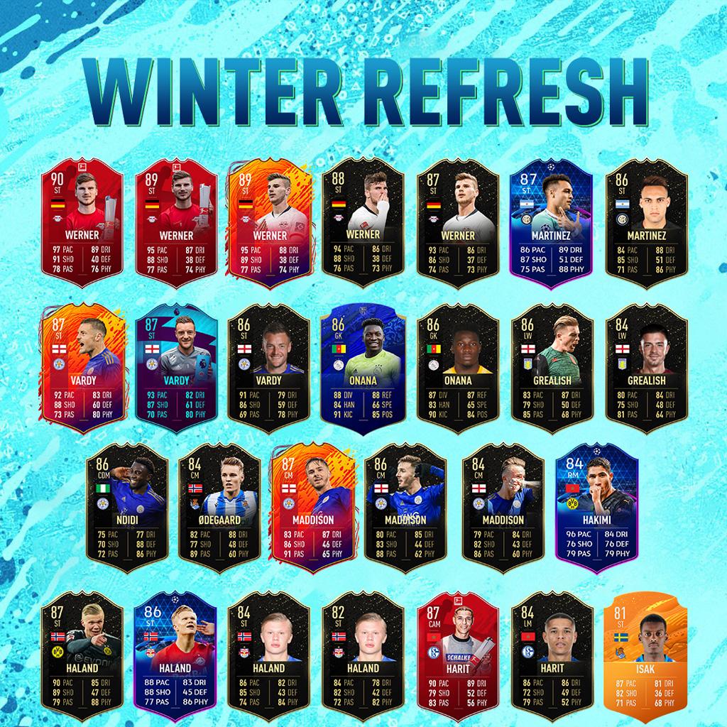 Winter Refresh Card Speciali