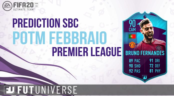 Bruno Fernandes POTM Febbraio Premier League Prediction Cover