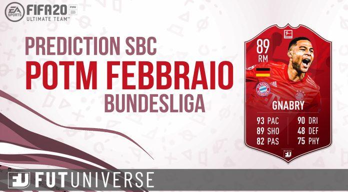 Gnabry POTM Febbraio Bundesliga Prediction Cover