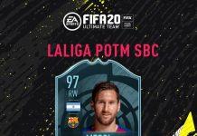 Messi POTM Febbraio