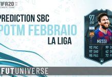 Messi POTM Febbraio Liga Prediction Cover