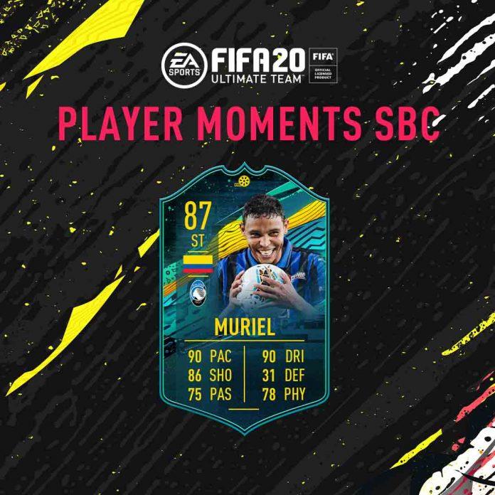 SBC Luis Muriel Momenti Giocatore
