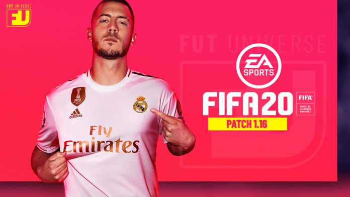 Patch 1.16 FIFA 20