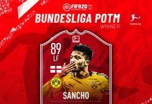 Sancho POTM Febbraio Bundesliga