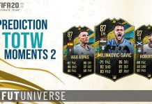 TOTW Moments 2 Prediction