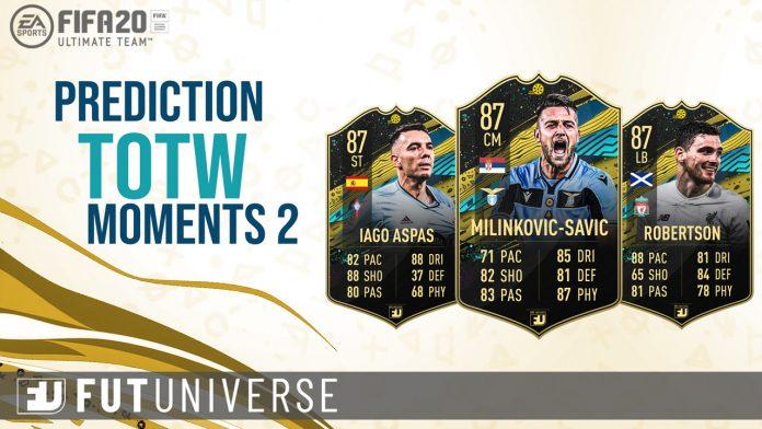 TOTW Moments 2 Prediction