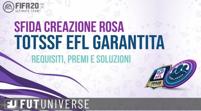 Sbc TOTSSF EFL garantita
