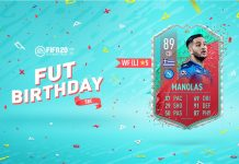 SBC Manolas FUT Birthday