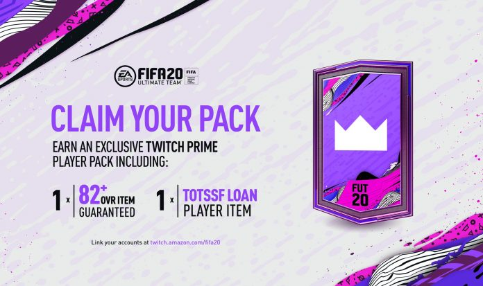 Pack Regalo Twitch Prime Fifa 20
