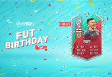 SBC Nick Pope