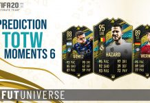 TOTW Moments 6 Prediction