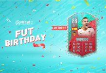 SBC Rodrigo FUT Birthday