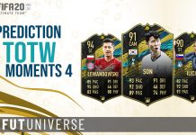 TOTW Moments 4 Prediction