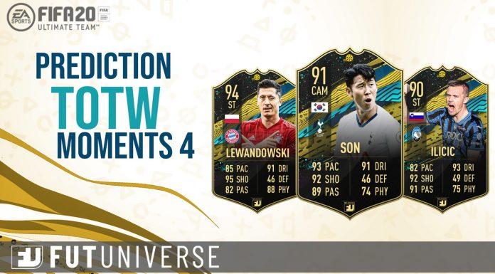 TOTW Moments 4 Prediction