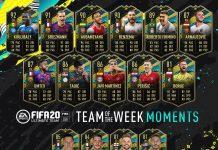 TOTW Moments 6 FIFA 20