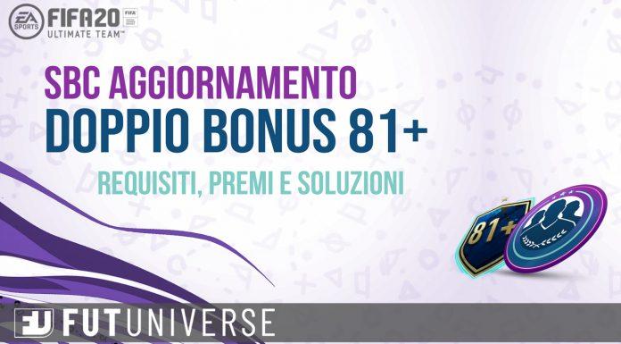 Doppio Bonus 81+