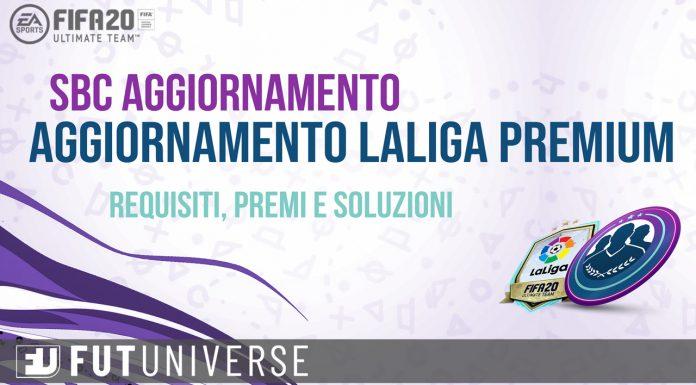 SBC Aggiornamento LaLiga Premium