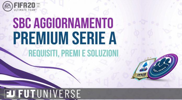 SBC Aggiornamento Premium Serie A