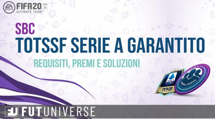 SBC TOTSSF Serie A Garantita