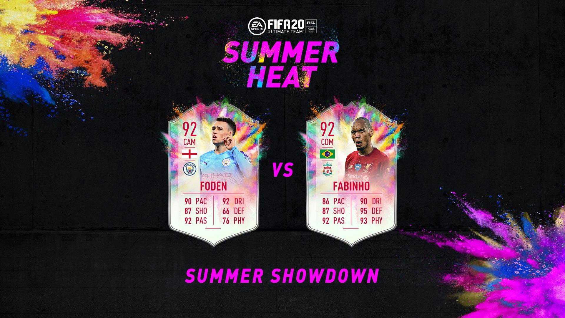 Foden Summer Showdown