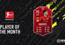 Havertz POTM MAggio Bundesliga
