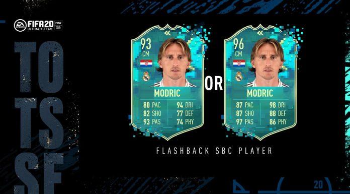 SBC Modric Flashback