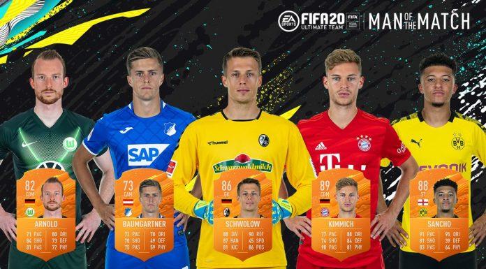 MOTM 28° giornata Bundesliga