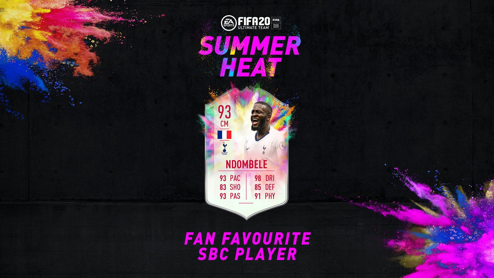 SBC Ndombele Summer Heat