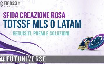 SBC TOTSSF MLS o LATAM garantita