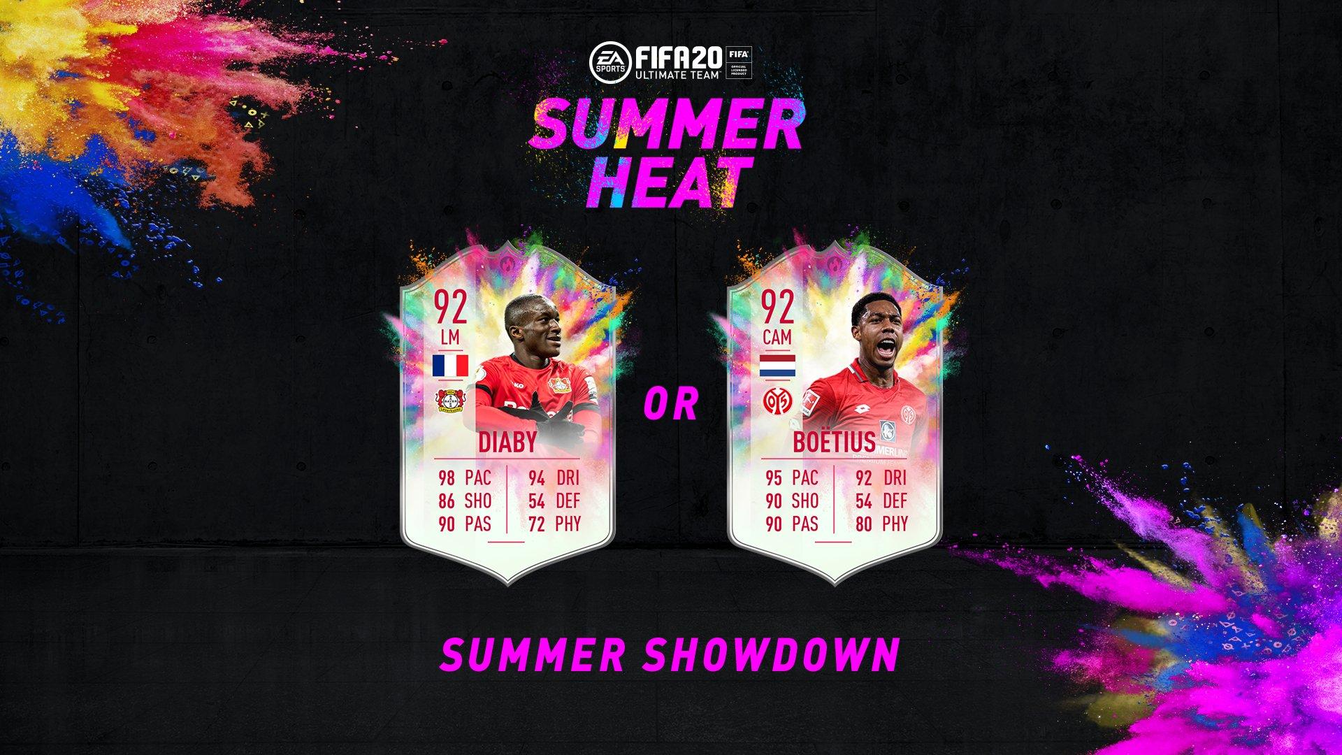 Diaby Boetius Summer Showdown