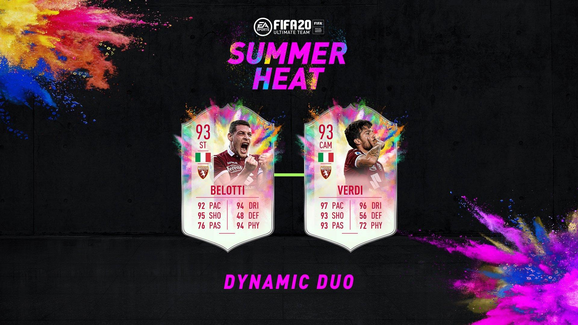 Belotti Verdi Summer Heat Dynamic DUo
