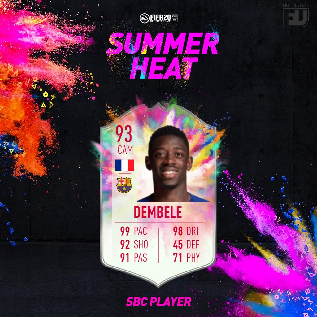 SBC Ousmane Dembele Summer Heat